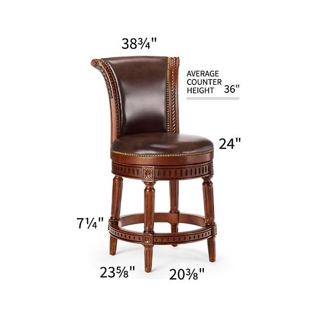 """Manchester Swivel Counter Height Bar Stool 24""""h Seat  Kitchen New Kitchen Counter Bar Stools Design Decoration"""