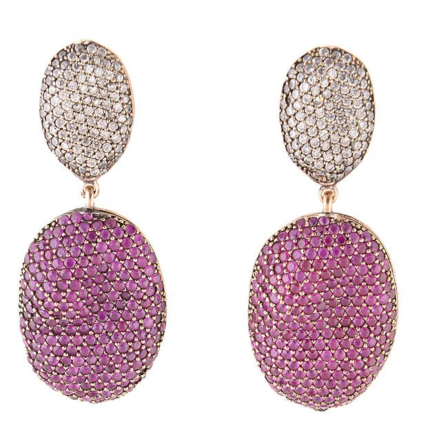 Oval Earrings - Coco Collection