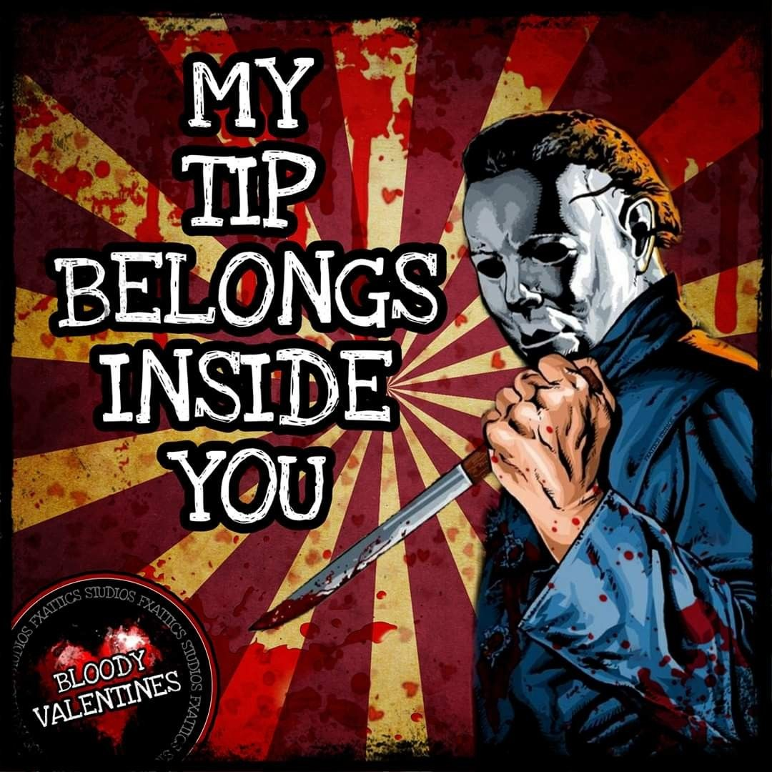 Michael Meyers Valentine's in 2020 Horror movies memes