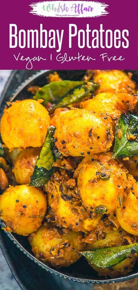Bombay Potatoes is a popular dish made using baby potatoes ...