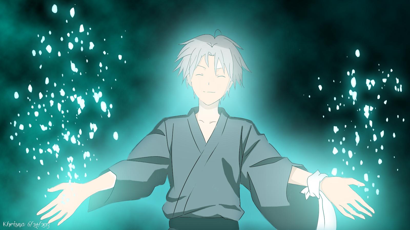 Gin Hotarubi no Mori e by fraea on DeviantArt Anime