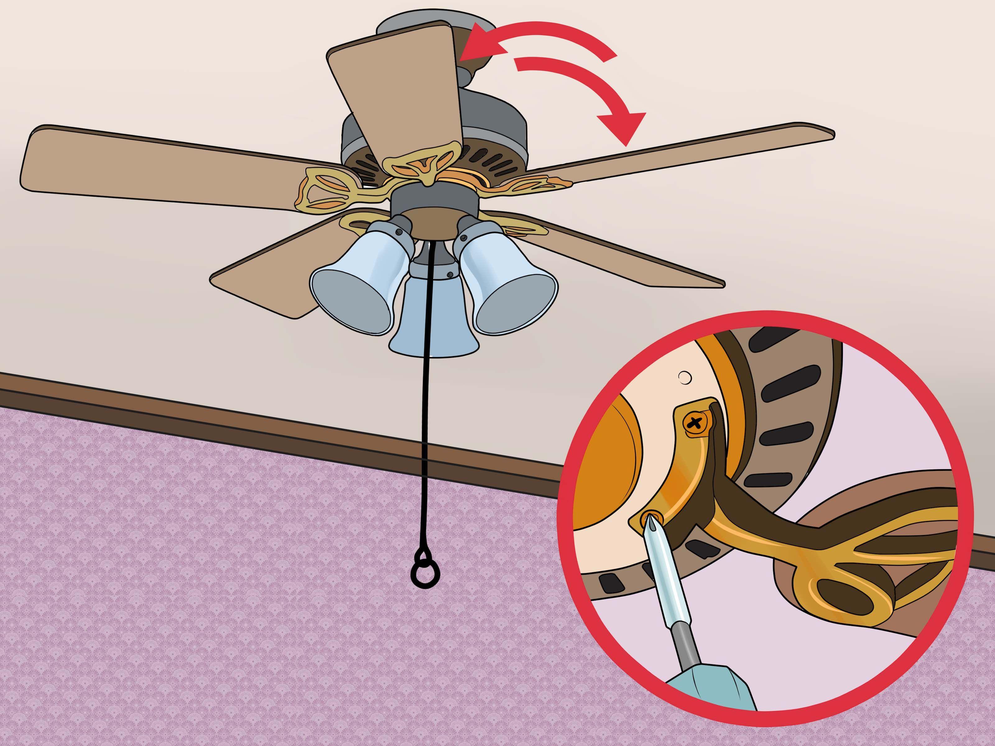 Fix A Wobbling Ceiling Fan