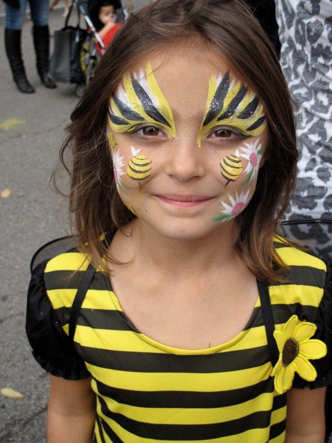 Title Mit Bildern Kinder Make Up Biene Schminken Kinder