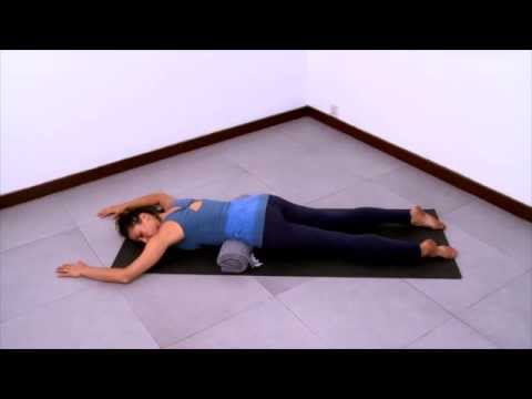 yoga sequence for decompressing the lumbar spine beginner