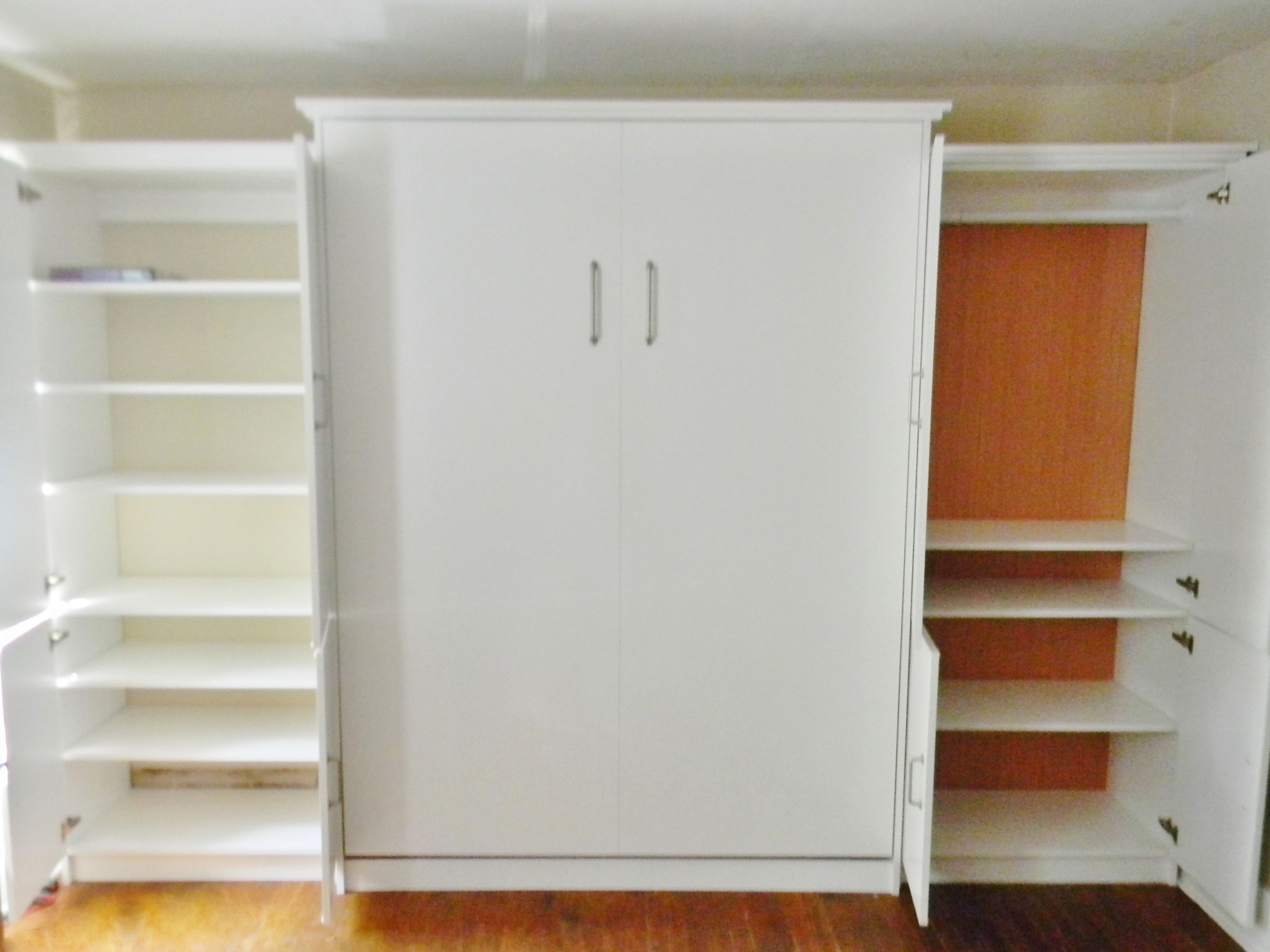 Murphy Bed With A Custom Wardrobe/closet, Manhattan Collection By Murphy  Wallbed USA.