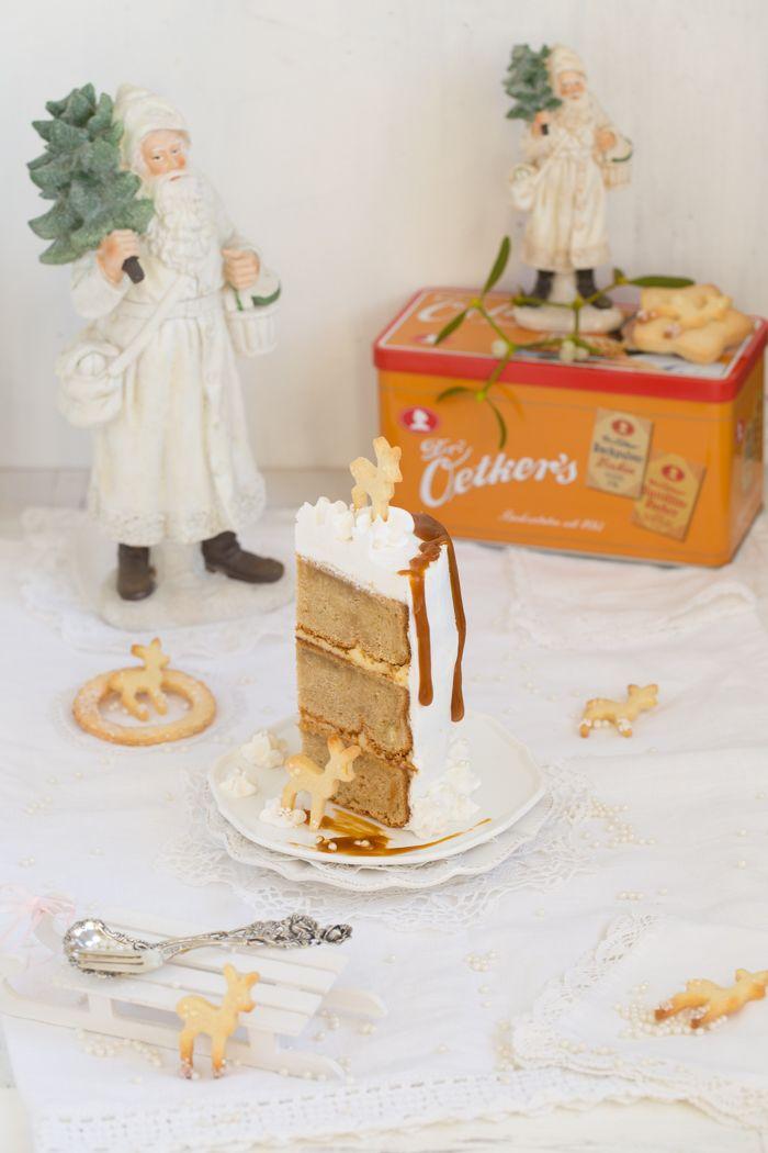 Eierlikor Torte Mit Gebraunter Butter Safran Karamell Und Viel Liebe Rezept Torten Karamell Und Kuchen Und Torten
