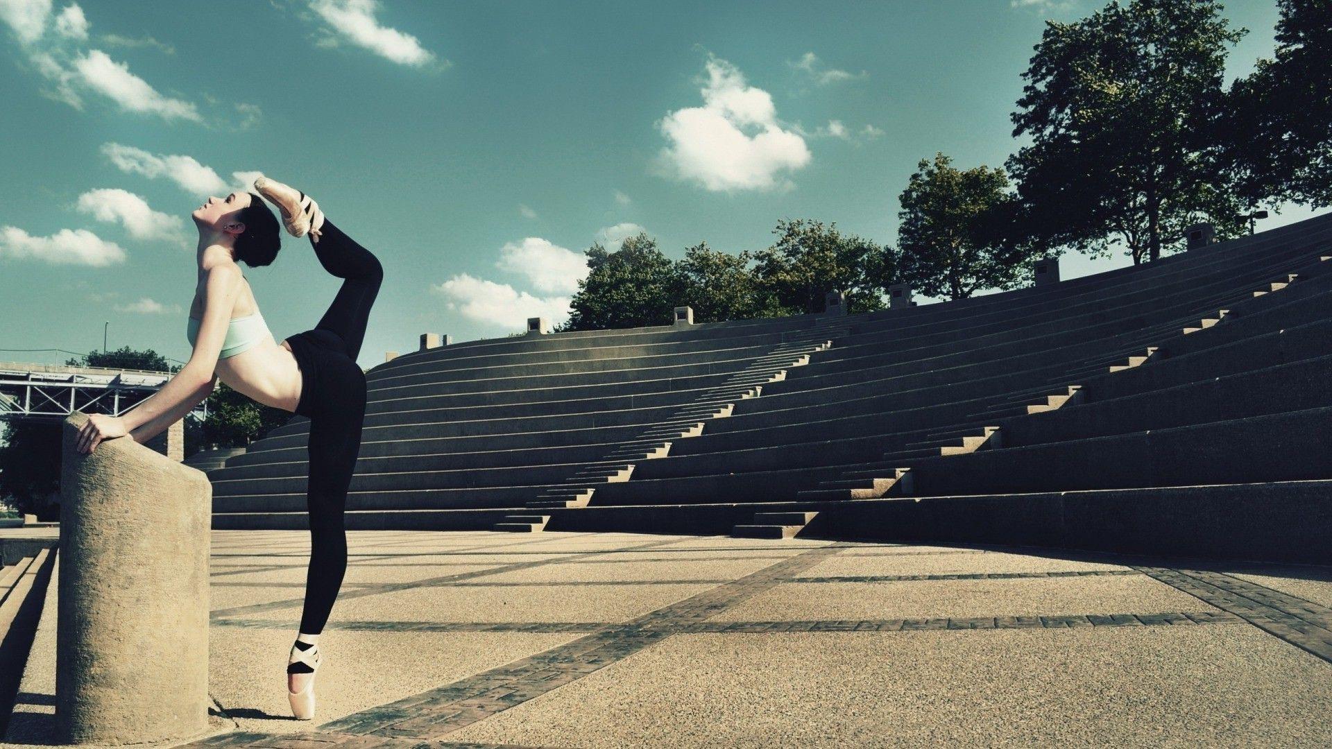 Ballet Dancer Wallpaper - Free Wide HD Wallpaper