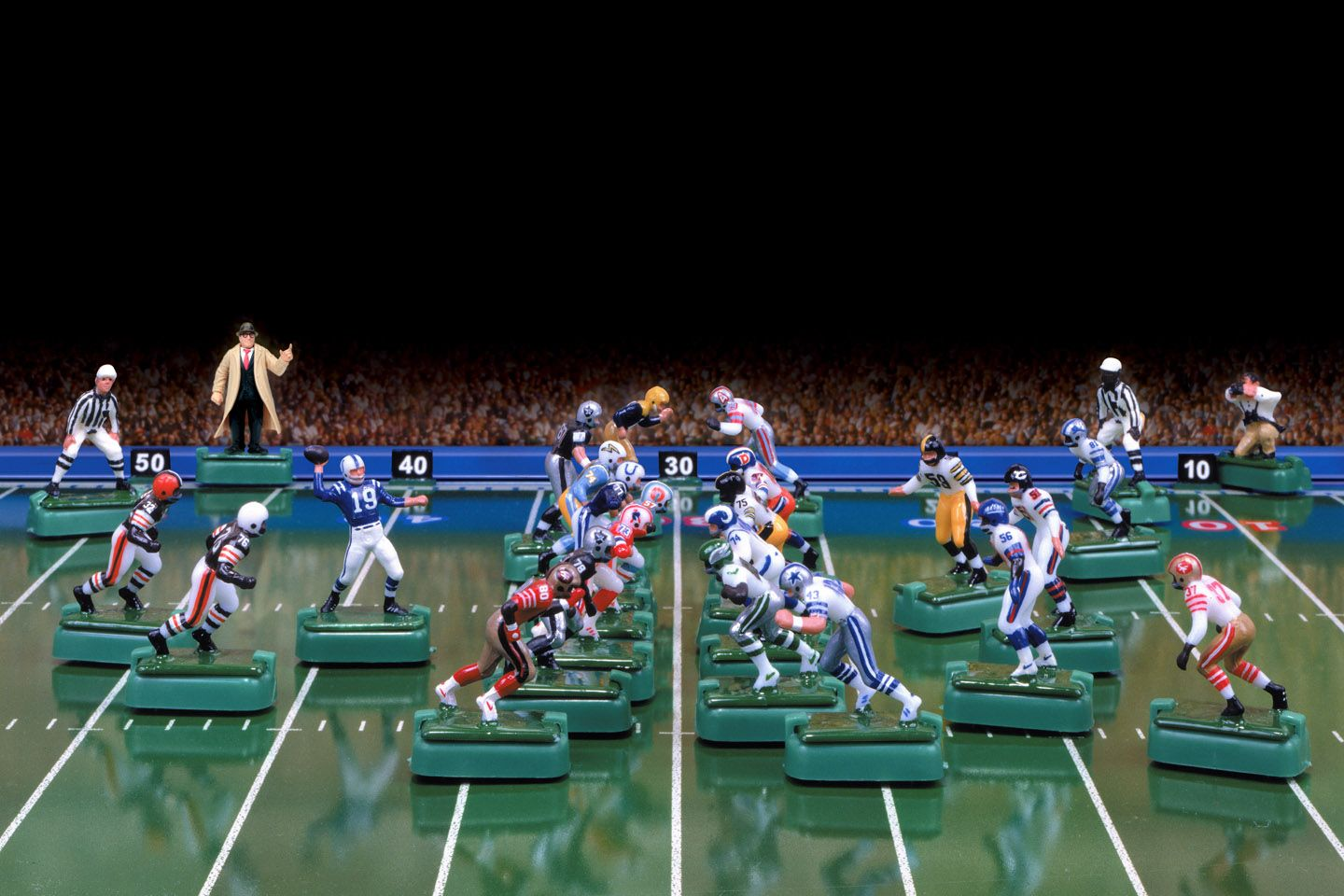 Electric Football Game I Had One Like This In About 1970