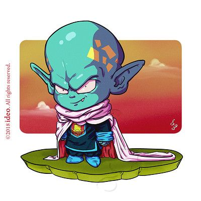 Artstation Cyril Brenner Loegel Chibi Dragon Anime Dragon Ball Chibi Dragonball gt hero's legacy hidden potential orbs poradnik. pinterest
