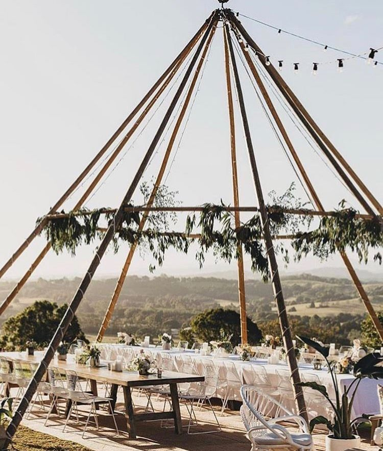 Event goals. Outdoor dining. Teepee Glamping weddings