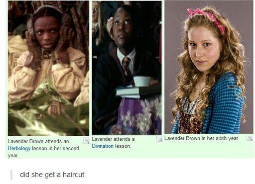 Lavender Brown Harry Potter Harry Potter Cast Harry Potter Fan Harry Potter