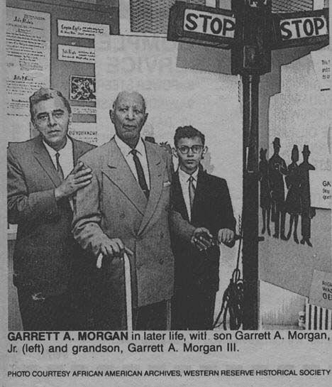 Superb This Day In History: Nov Garrett Morgan Patents Three Position Traffic  Signal