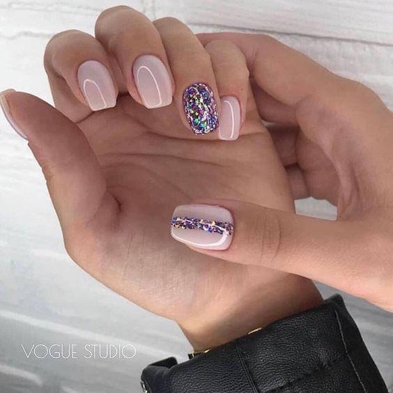 45 Simple Summer Nails Colors Designs 2019 Koees Blog Summer Nails Colors Designs Pink Nails Colorful Nail Designs