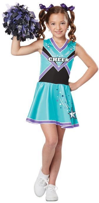 cheerleader costumes for kids | Cheerleader Costume $25.88 for Kids - Girls Cheerleader Costumes  sc 1 st  Pinterest & Cheerleader Kids Costume | Pinterest | Girls cheerleader costume ...