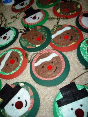 Handmade christmas gift tags on pinterest