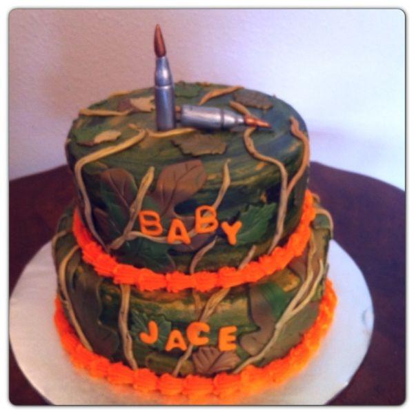 Camouflage Baby Shower Camouflage Baby Shower Cake