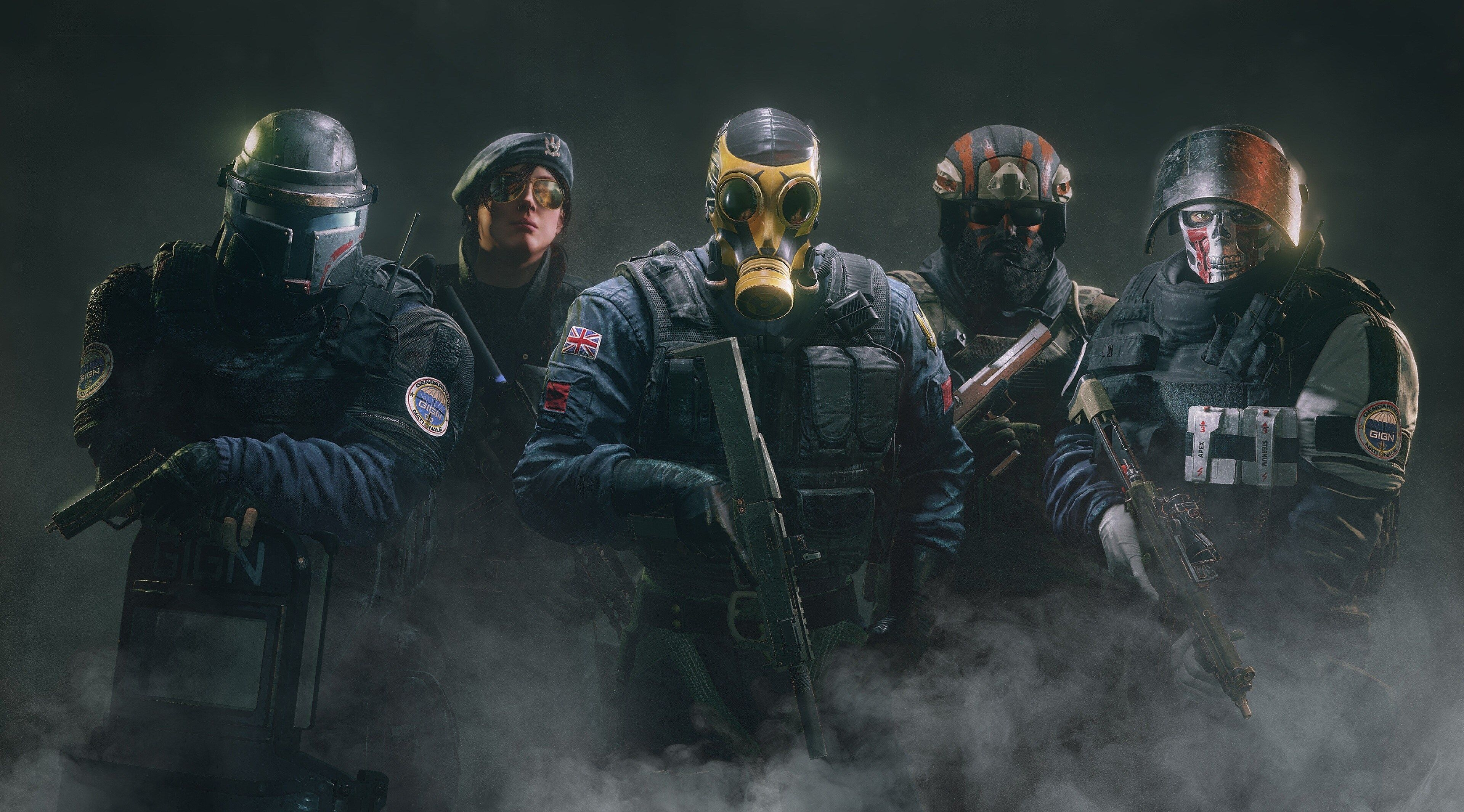 3840x2130 Tom Clancys Rainbow Six Siege 4k Hd Background Wallpaper
