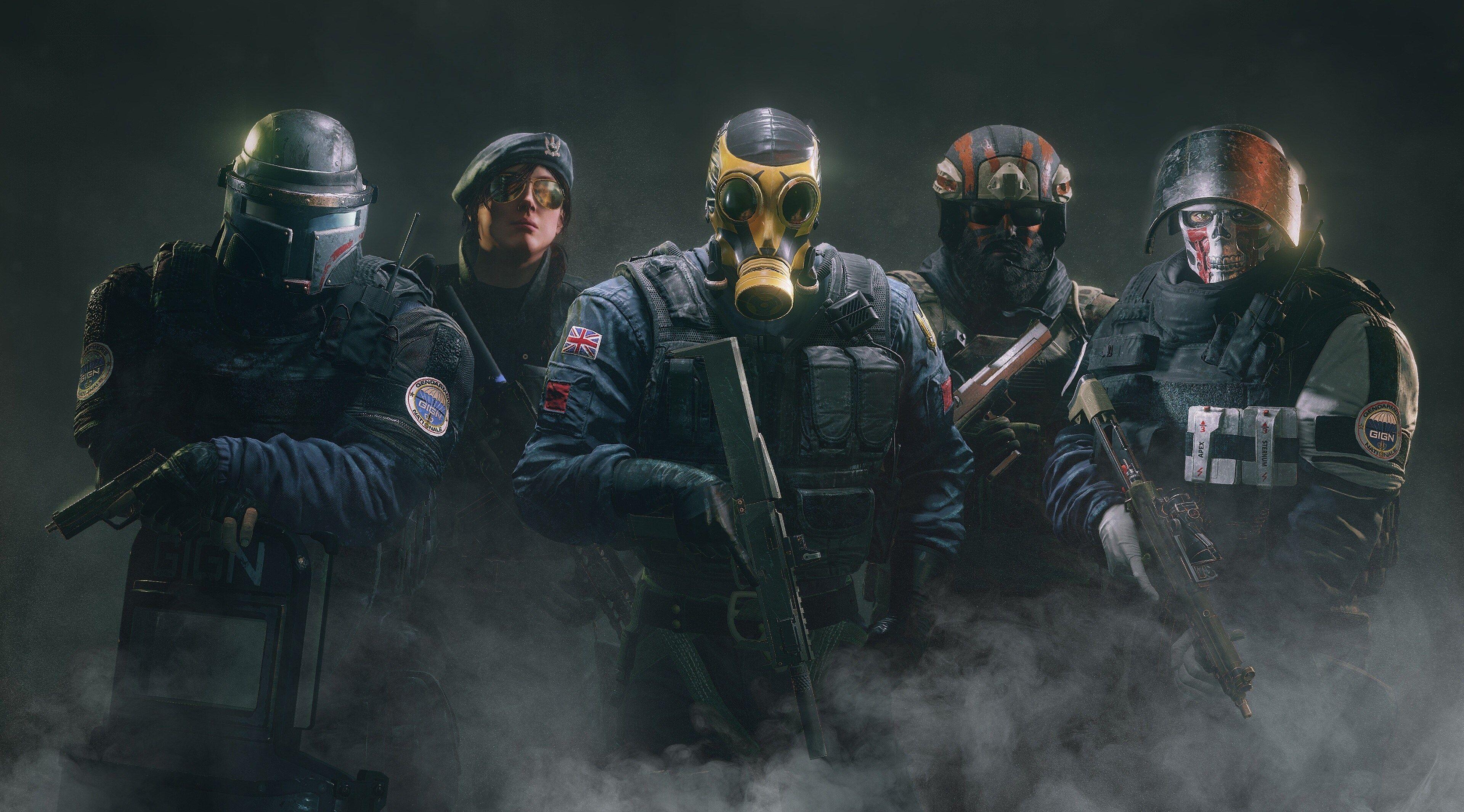 3840x2130 Tom Clancys Rainbow Six Siege 4k Hd Background Wallpaper