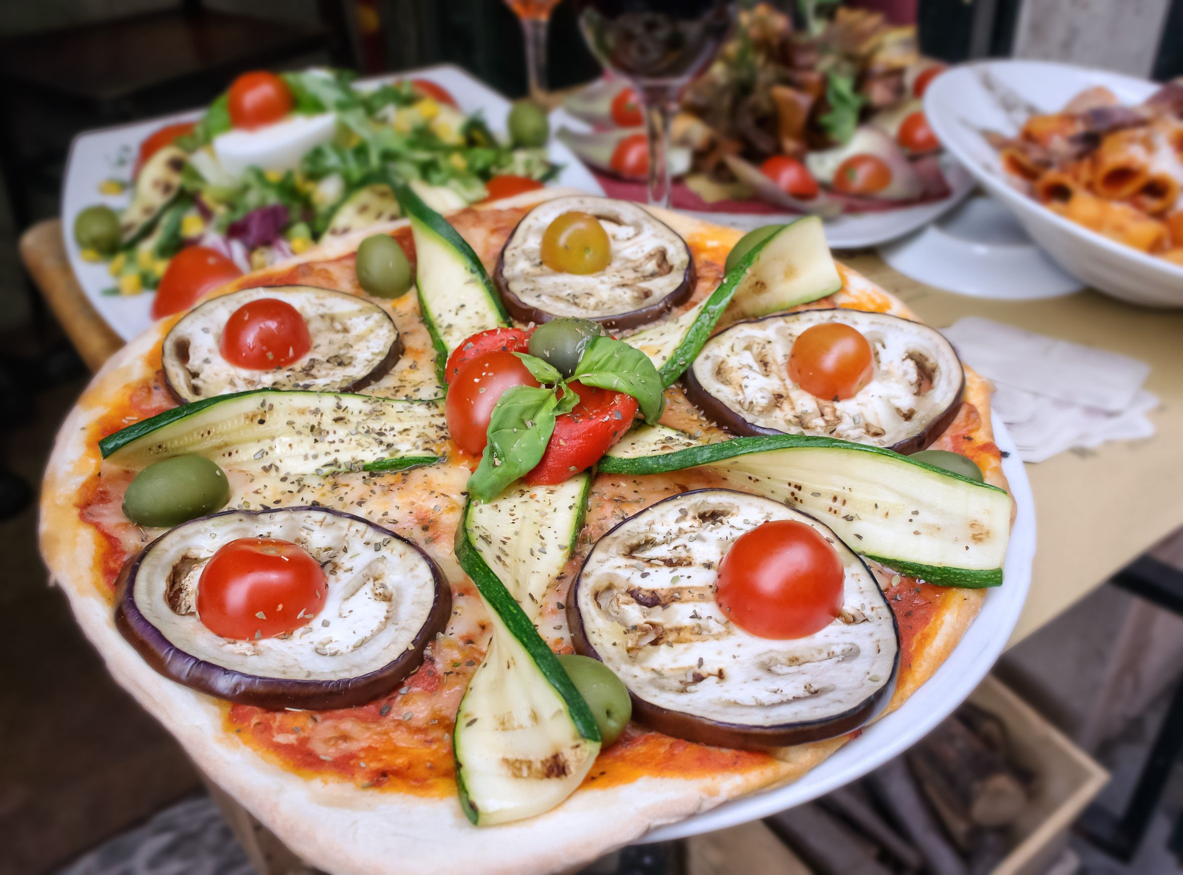 Immer eine gute Idee - #Pizza in #Roma.