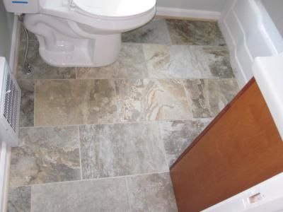 user submitted photo from lowes american olean x kendal slate easdale neutral glazed porcelain floor tile actuals x - Bathroom Tiles Kendal