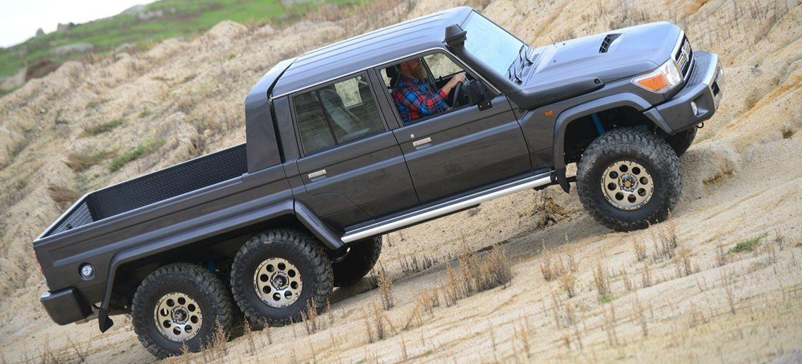 Toyota Landcruiser 6x6 Interesting Trucks Pinterest Land