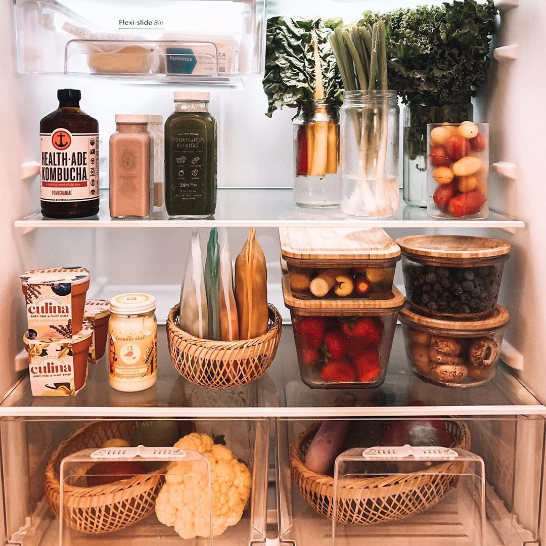 """georgette 🌿 on Instagram: """"Our pretty fridge isnt perfect. Ive shared a couple of these fridge photos before but I think I couldve been more transparent in sharing…"""""""