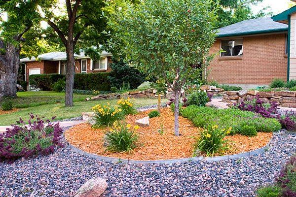 A Beautiful Garden Mediterranean Landscape Denver Designscapes Colorado Inc Mediterranean Garden Design Mediterranean Landscaping Sloped Garden