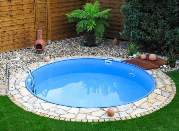 Swimmingpool für den kleinen Garten Auch mit wenig Platz ...