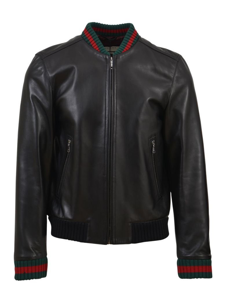 GUCCI Gucci Black Leather Jacket.  gucci  cloth     Gucci Men ... 1a3917a65a5