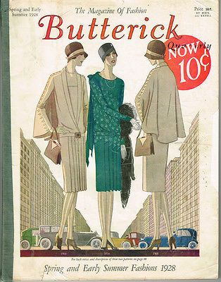 1920s Vintage Butterick Quarterly Catalog Spring and Summer 1928 ...