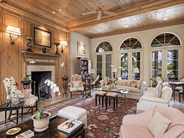 Living Room - Port Royal - Naples, Florida