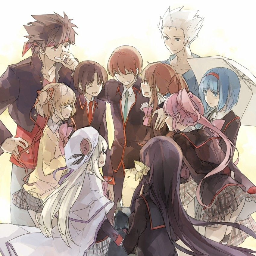 Anime Group Of Friends Google Search Anime Group Of Friends Anime Group Little Busters