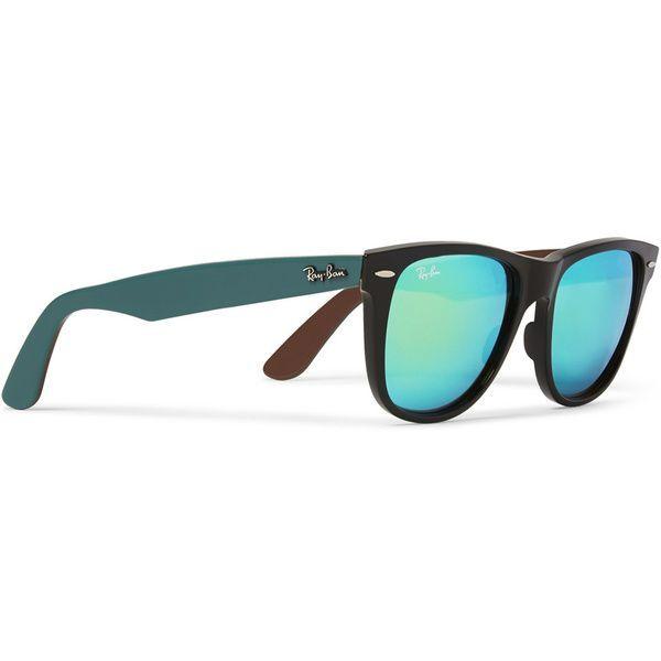 Ray-Ban - Les lunettes de soleil homme du printemps-ete 2015 Les lunettes  néo-rétro Rajeunie par des verres miroir et des branches de couleur, ... 3d56599416d1