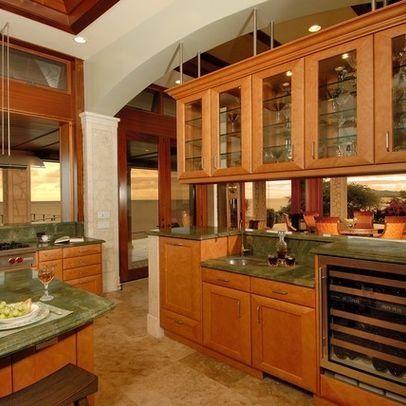 Green Granite  Dreamy Digs  Pinterest  Granite Green Granite Mesmerizing Kitchen Design Hawaii Design Decoration