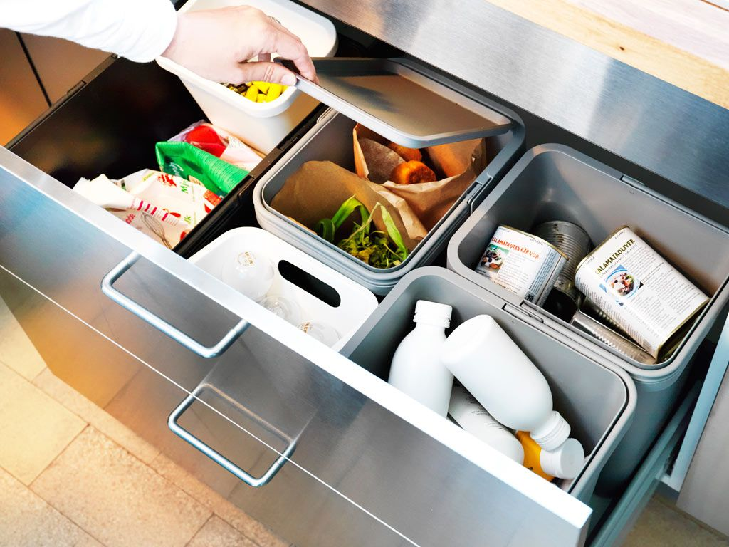 Ikea Pull Out Waste Sorting