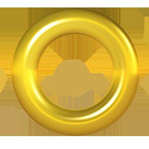 Gold Ring Festas De Aniversario Do Sonic Aniversario Do Sonic Festa Sonic