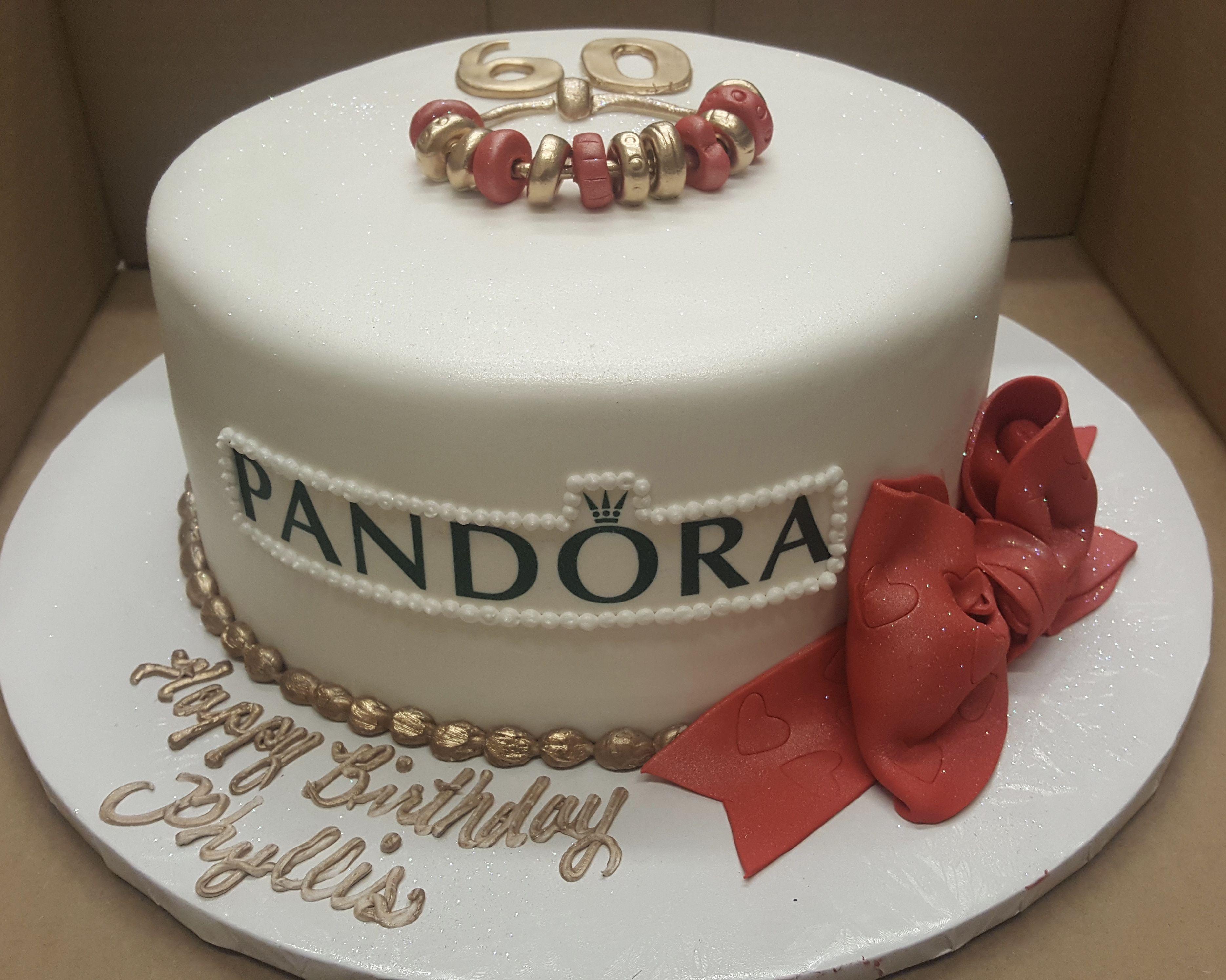 Pleasing Calumet Bakery Pandora Fondant Birthday Cake With Images Funny Birthday Cards Online Alyptdamsfinfo