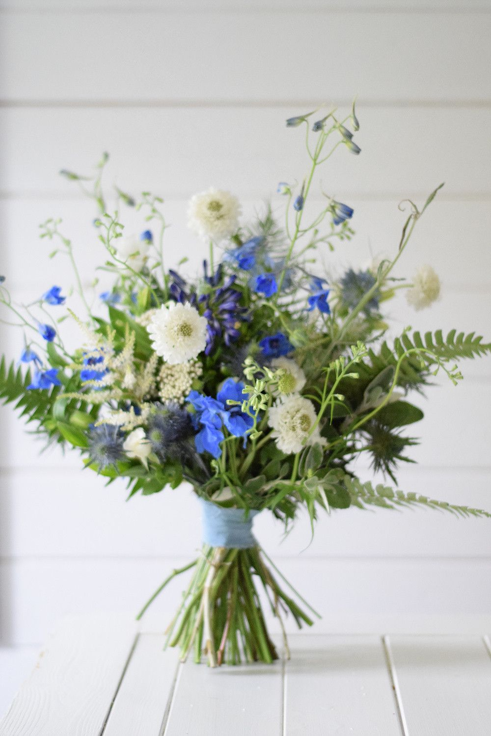 brides summer bouquet wild and rustic Rustic wedding