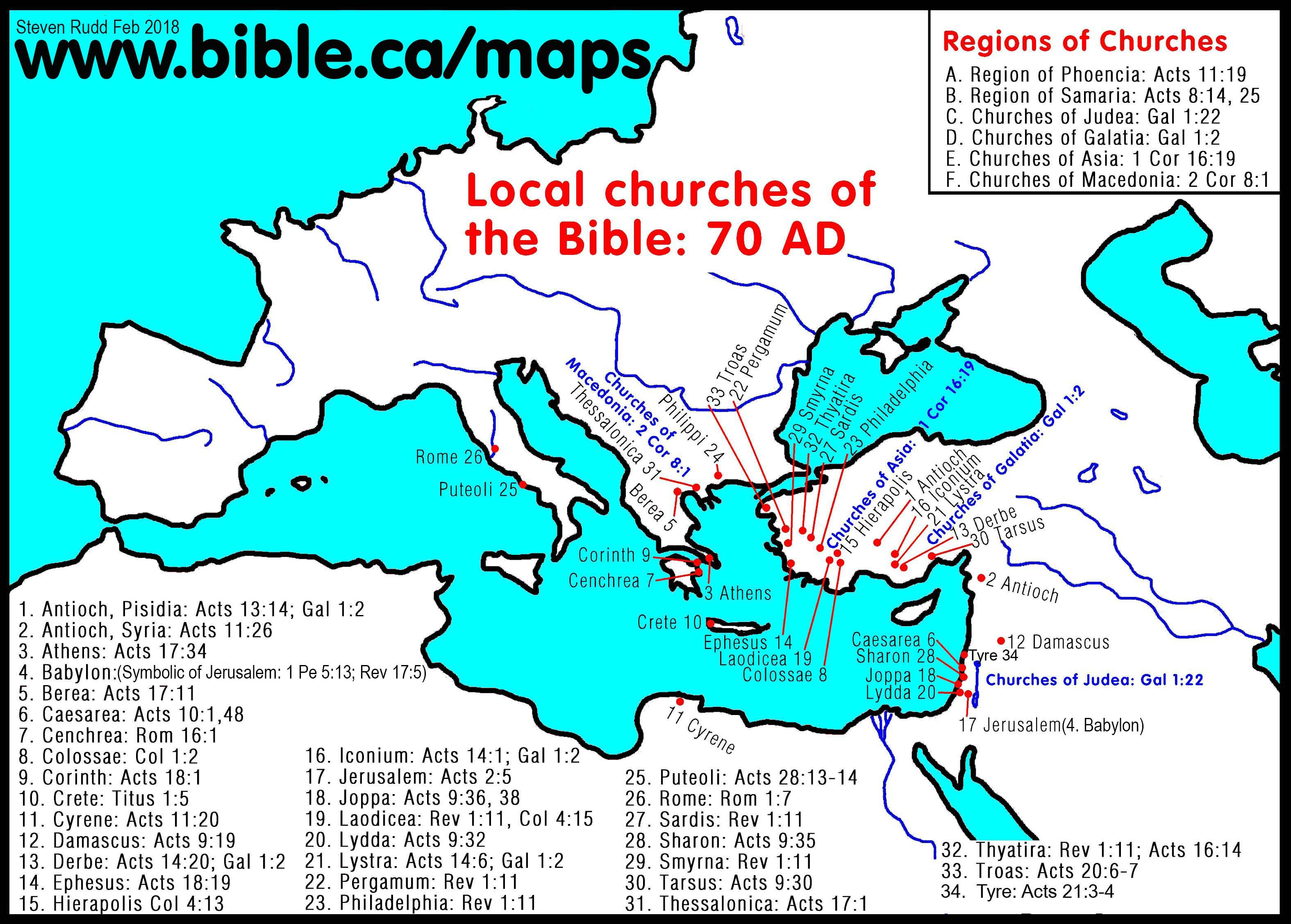 Http Www Bible Ca Maps Maps Ancient Churches Bible 70ad Jpg