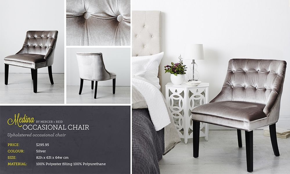 Adairs Silver Chair | Furniture | Pinterest | Bedroom Chair And