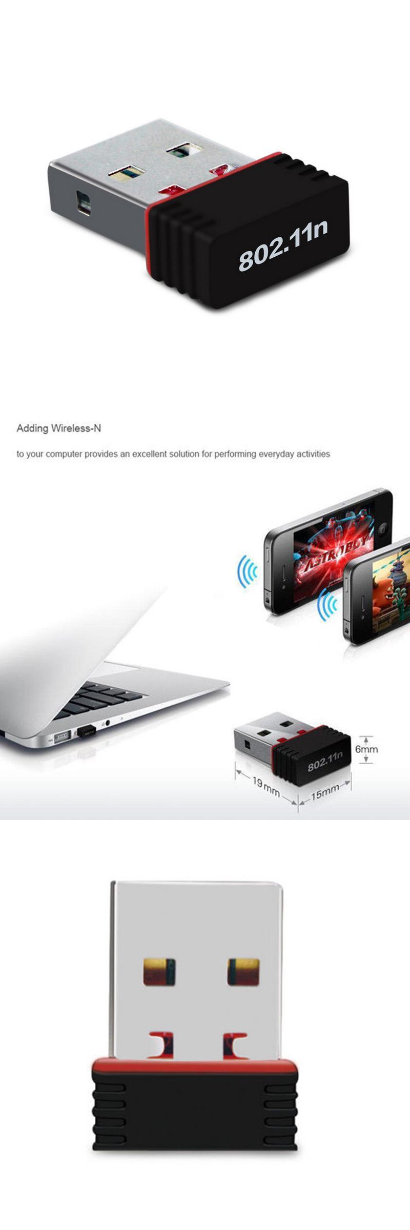 Visit to Buy] Big Sale ! Mini USB WiFi Adapter N 802.11 b/g/n Wi ...