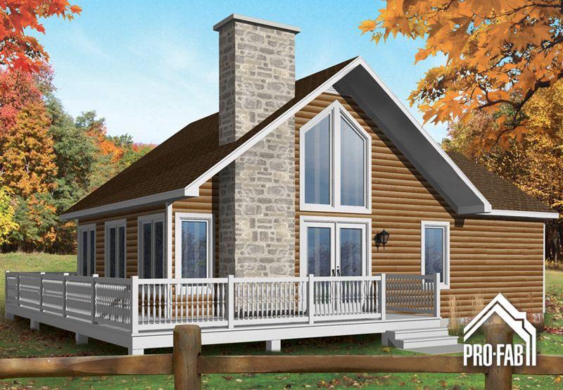 Pro fab constructeur de maisons modulaires usin es pr fabriqu es mod le cormoran maison for Constructeur maison prefabriquee