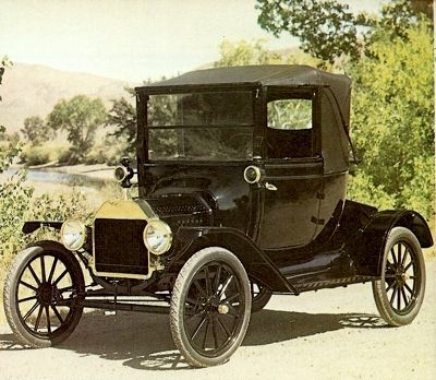 1915 Ford Model T Coupelet Veteran Car Classic Cars Retro Cars