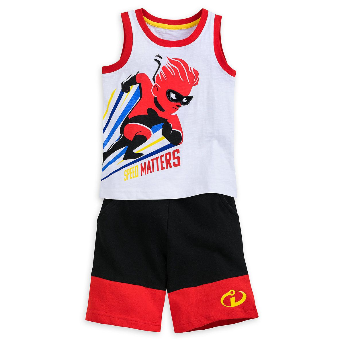 eb24e93ad6e55 Product Image of Dash Tank and Shorts Set for Boys - Incredibles 2 # 1