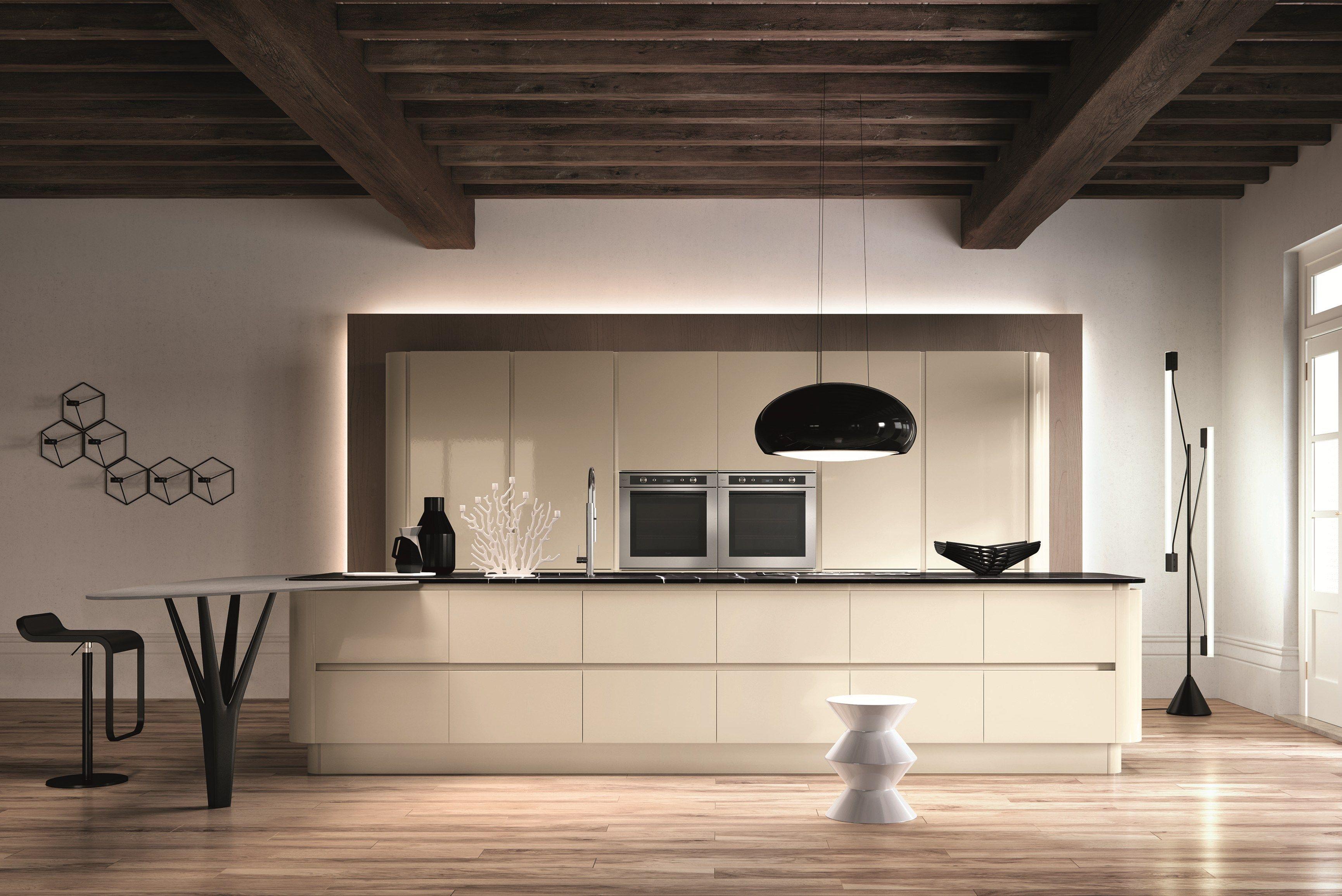 DOMINA Cocina con isla by Aster Cucine diseño Lorenzo Granocchia ...