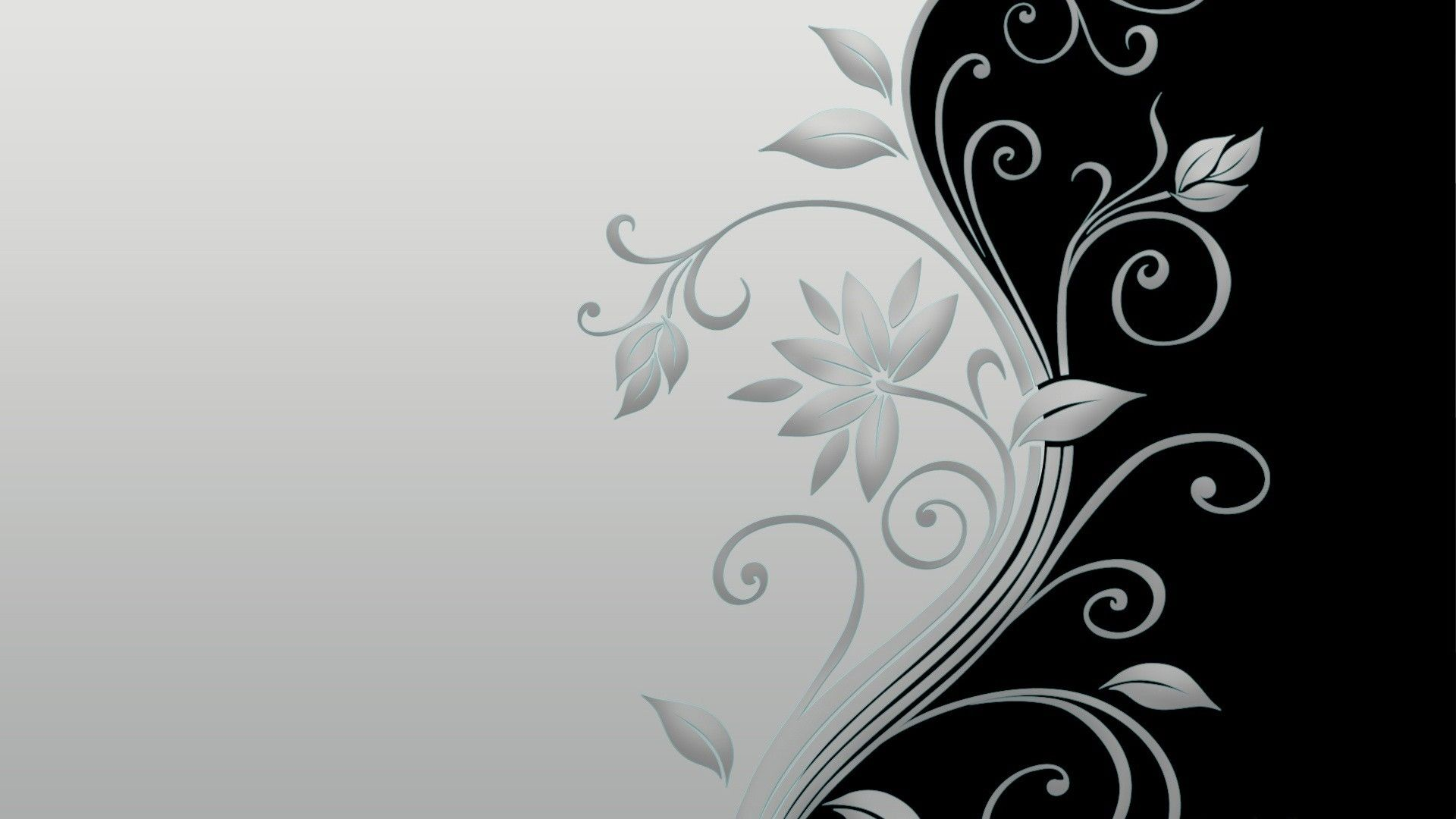 black and white floral wallpaper | black and white | pinterest