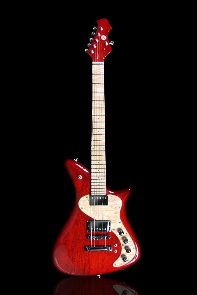 Becker Guitars Retro Cherry Gloss
