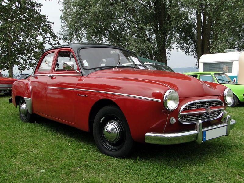 Renault fregate 1955 retro meus auto lac de madine 2010 1 for Garage peugeot agde
