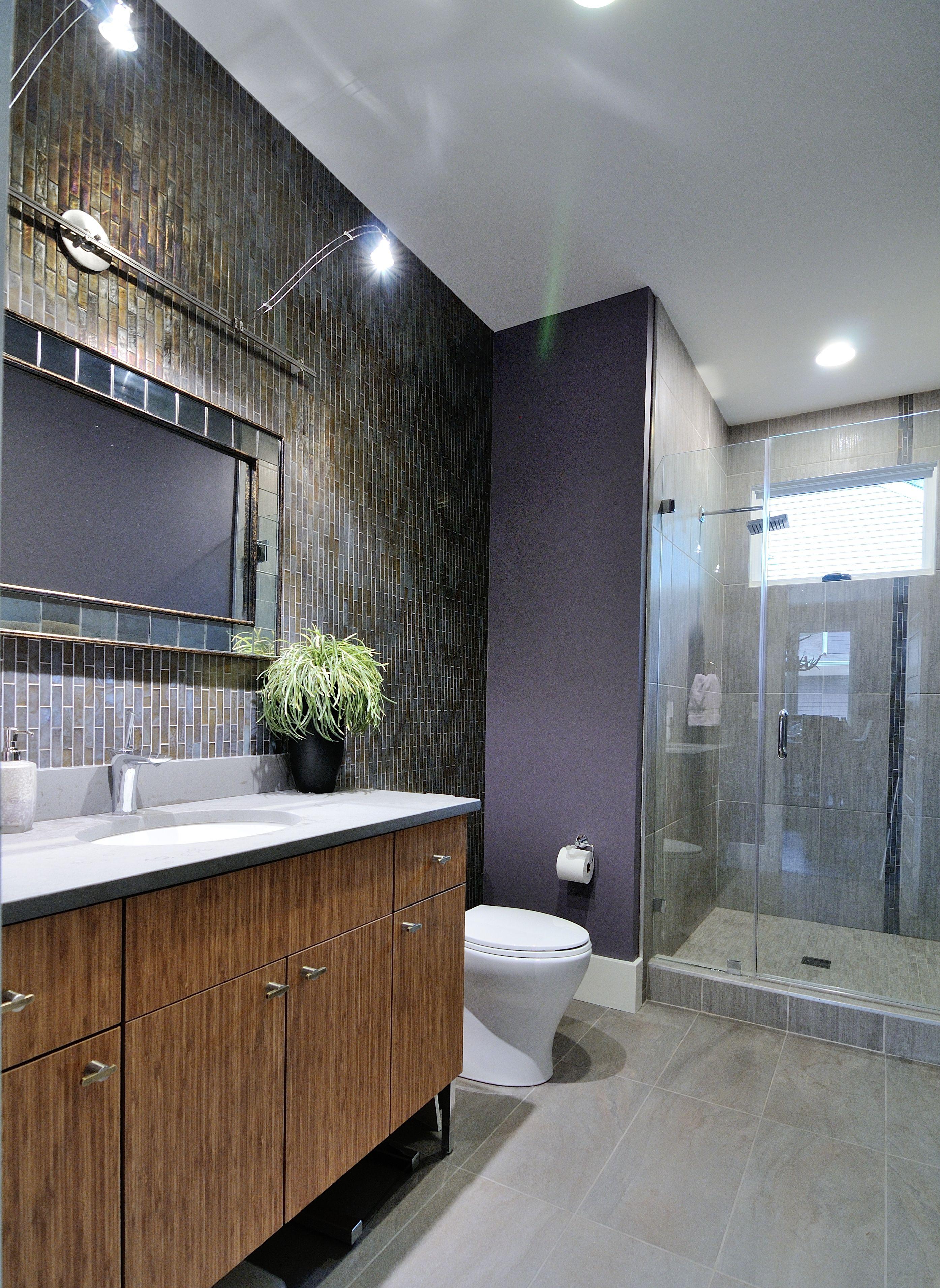Pebble CaesarStone Bathroom Countertop By Atlanta Kitchen - Bathroom design atlanta