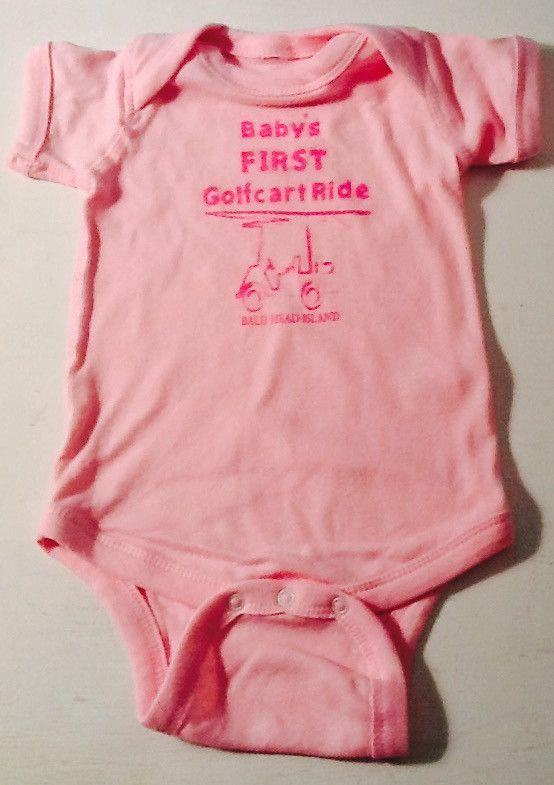 Onesie - First Cart Ride - Pink
